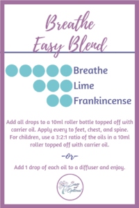 Essential Oil Blend for Cold Season